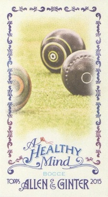 Unannounced 2015 Topps Allen & Ginter Mini Inserts Have a Healthy Focus 17