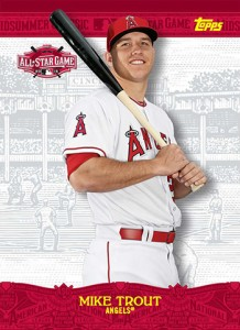2015 Topps All-Star FanFest Mike Trout