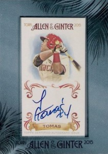 2015 Topps Allen & Ginter Baseball Cards 29