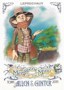 2015 Topps Allen & Ginter Baseball Menagerie of the Mind