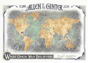 2015 Topps Allen & Ginter Baseball What Once Was Believed