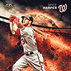 2015 Topps Fire Baseball Prints