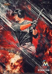 2015 Topps Fire Baseball Prints 21