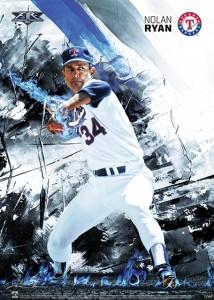 2015 Topps Fire Baseball Prints 22