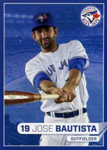 2015 Toronto Blue Jays Fire Safety Jose Bautista