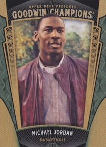 2015 Upper Deck Goodwin Champions Base Michael Jordan