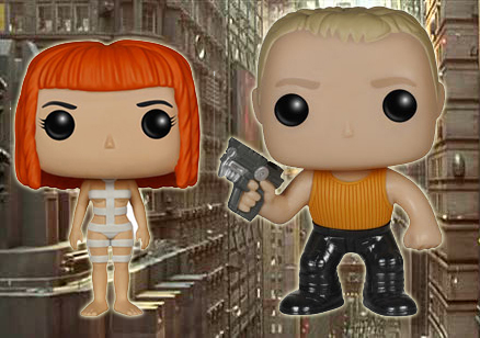 Funko Pop Fifth Element Background