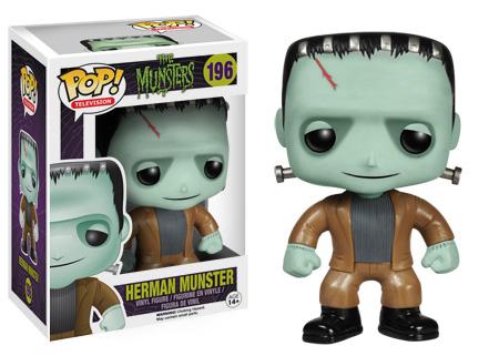 Funko Pop Munsters 196 Herman Munster