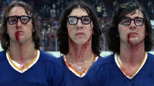 Foil Up with Hanson Brothers Hockey Cards 1