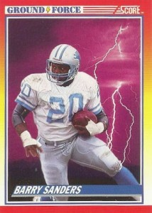 1990 Score Football Cards 5