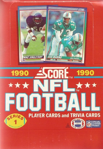 1990 Score Football Cards 50
