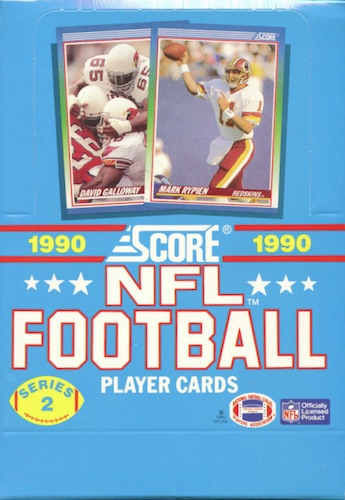 1990 Score Football Cards 56