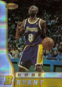 1996-97 Bowmans Best Basketball Atomic Refractor Kobe Bryant RC
