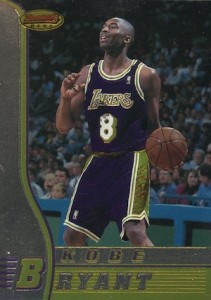 1996-97 Bowmans Best Basketball Base Kobe Bryant RC