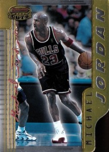 1996-97 Bowmans Best Basketball Best Cuts Michael Jordan
