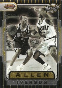 1996-97 Bowmans Best Basketball Retro Allen Iverson