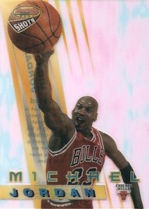 1996-97 Bowmans Best Basketball Shots Michael Jordan