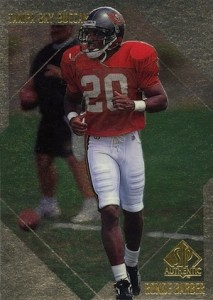 1997 SP Authentic Football Ronde Barber RC