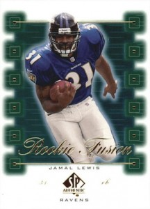 2000 SP Authentic Football Cards 27