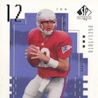 2000 SP Authentic Football Cards