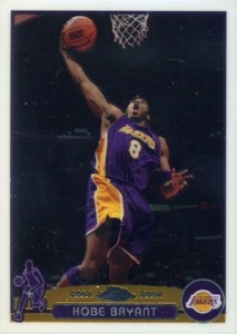 2003-04 Topps Chrome Basketball Base Kobe Bryant