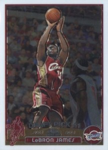 2003-04 Topps Chrome Basketball LeBron James RC