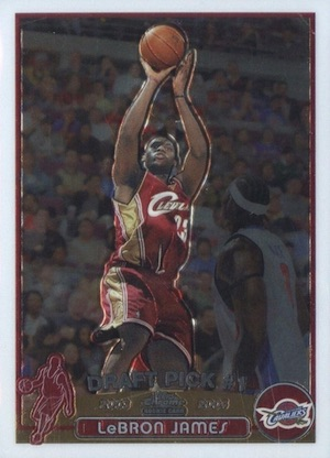 2003-04 Topps Chrome Basketball Cards 1