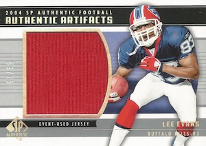 2004 SP Authentic Football Artifacts Jersey