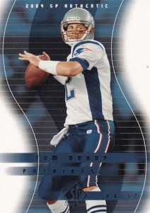 2004 SP Authentic Football Base Tom Brady