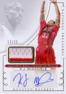 2014-15 Panini National Treasures Basketball Kobes All-Rookie Team