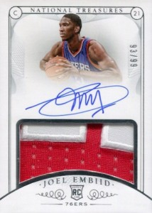 2014-15 Panini National Treasures Basketball Cards 25