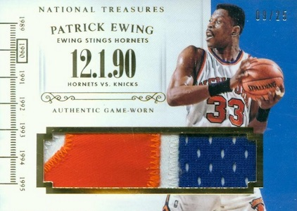 2014-15 Panini National Treasures Basketball Cards 47