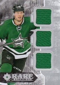 2014-15 Upper Deck Ultimate Collection Hockey Rare Materials