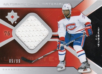 2014-15 Upper Deck Ultimate Collection Hockey Cards 24