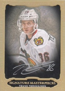 2014-15 Upper Deck Ultimate Collection Hockey Signature Masterpieces teravainen