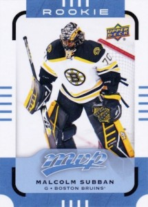 2015-16 Upper Deck MVP Hockey Malcolm Subban RC