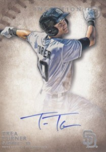 2015 Bowman Inception Prospect Autographs Trea Turner