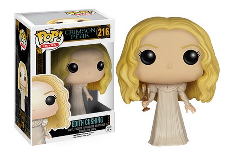 2015 Funko Pop Crimson Peak Vinyl Figures Edith Cushing