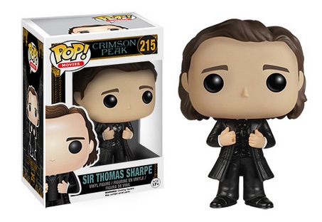 2015 Funko Pop Crimson Peak Vinyl Figures Sir Thomas Sharpe