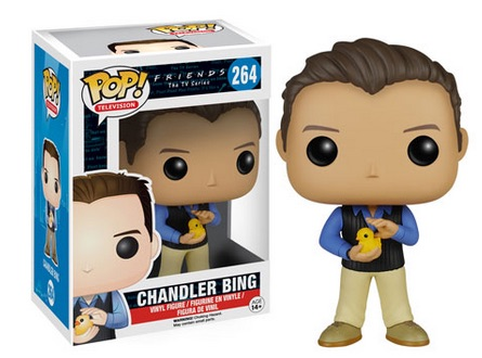 2015 Funko Pop Friends Vinyl Figures Chandler Bing