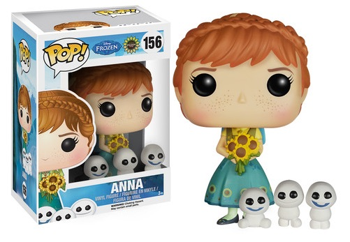 2015 Funko Pop Frozen Fever Vinyl Figures 2