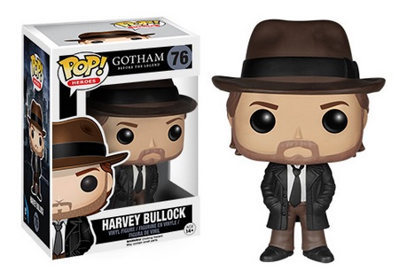 2015 Funko Pop Gotham Vinyl Figures Harvey Bullock