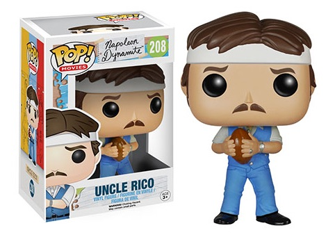 2015 Funko Pop Napoleon Dynamite Figure Uncle Rico