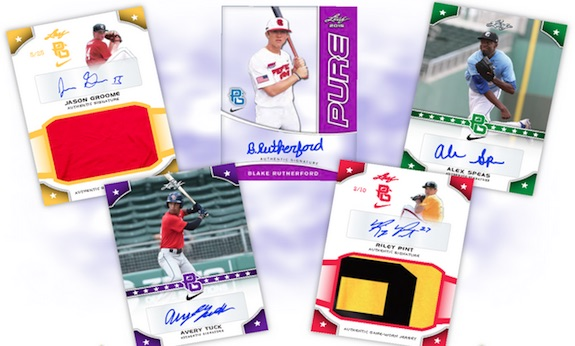 2015 Leaf Perfect Game National Showcase Baseball Cards 1