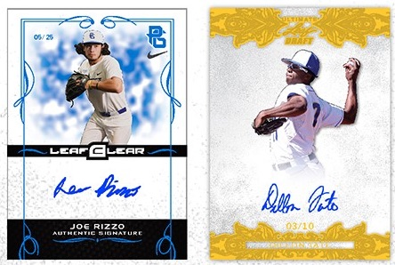 2015 Leaf Ultimate Draft Baseball 2