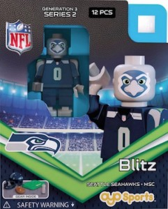 2015 OYO NFL Mascots Football Minifigures 1