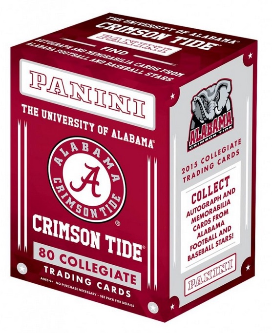 2015 Panini Alabama Crimson Tide Collegiate Trading Cards 3