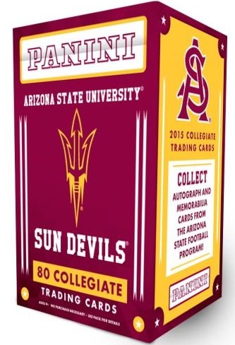 2015 Panini Arizona State Collegiate Trading Cards 1
