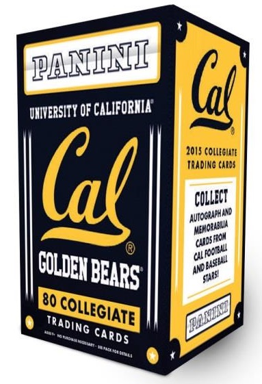 2015 Panini California Bears Collegiate Trading Cards 1