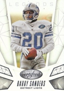 2015 Panini Certified Football Legends Barry Sanders